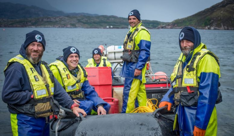SSC staff have helped the Edinburgh-headquartered salmon farmer earn record revenues in the first half of 2018. Photo: SSC
