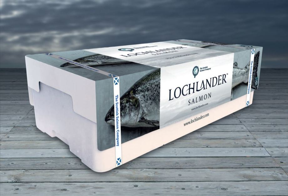 Lochlander Salmon is aimed at the hospitality industry in the US. Photo: SSC