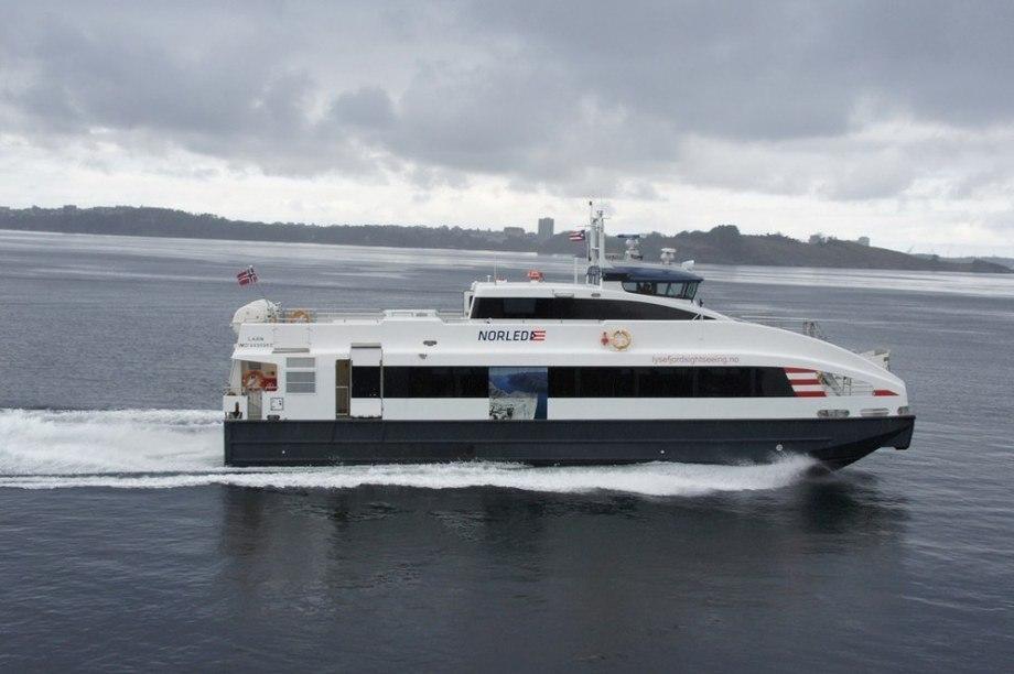 MS Brage, med plass til 147 passasjerer, vil gå inn på ruten Tromsø - Skjervøy. Den vil starte allerede i mai.