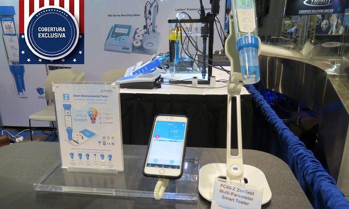 Medidor de pH multiparámetro PC60-Z. Imagen: Daniella Balin, Salmonexpert.