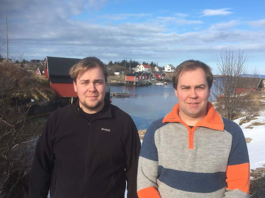 Brødrene Aleksander Sætern og Eirik Sætern har stiftet brønnbåtrederiet Sleneset Aqua Service. Foto: Sleneset Aqua Service.
