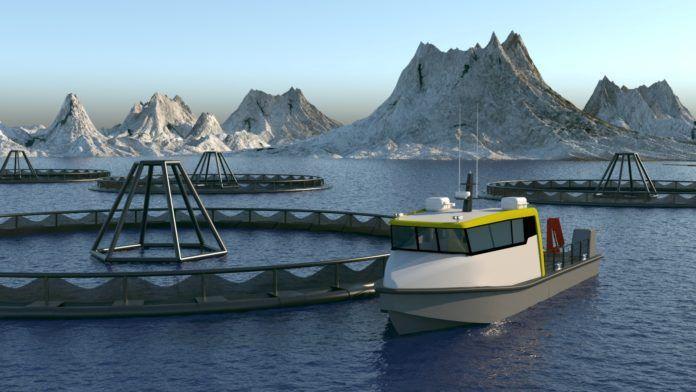 Tuco Marine skal levere to arbeidsfartøy til AKVA Group. Illustrasjonsfoto: Tuco Marine