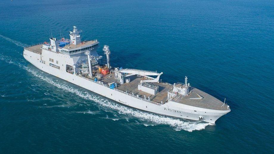 Det nye logistikkfartøy erstatter KNM «Valkyrien» etter 21 års tjeneste. Det nye fartøyet blir dobbelt så stort som fregattene. Foto: Forsvaret