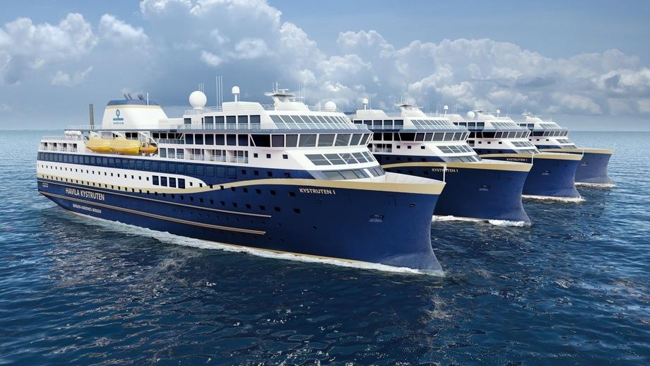 TMC har fått kontrakt på leveranser til Havilas nye kystruteskip. Illustrasjon: Havila