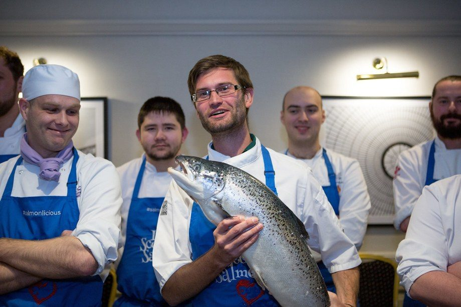 Top chefs in Europe appreciate Scottish salmon, and the SSPO wants to make sure Scotland maintains the same access to the market that it currently enjoys. Photo: SSPO