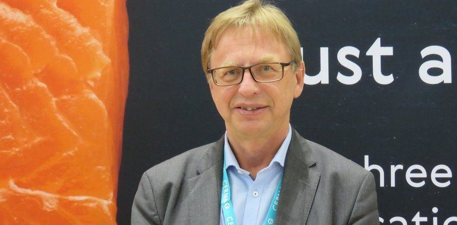 Geir Molvik, CEO de Salmonexpert. Imagen: Daniella Balin, Salmonexpert.
