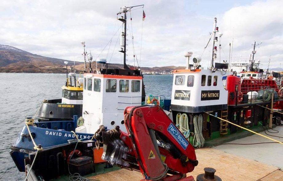 Marine Harvest has bought three vessels from Seahorse Aquaculture Ltd. Photo: Marine Harvest