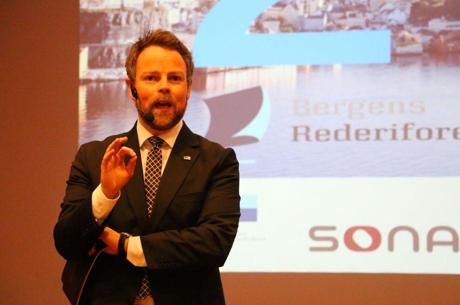 Næringsminister Torbjørn Røe Isaksen. Foto: Andrea Bærland