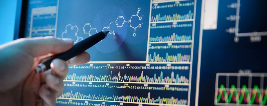Imagen referencial de bioinformática. Fuente: RTI.