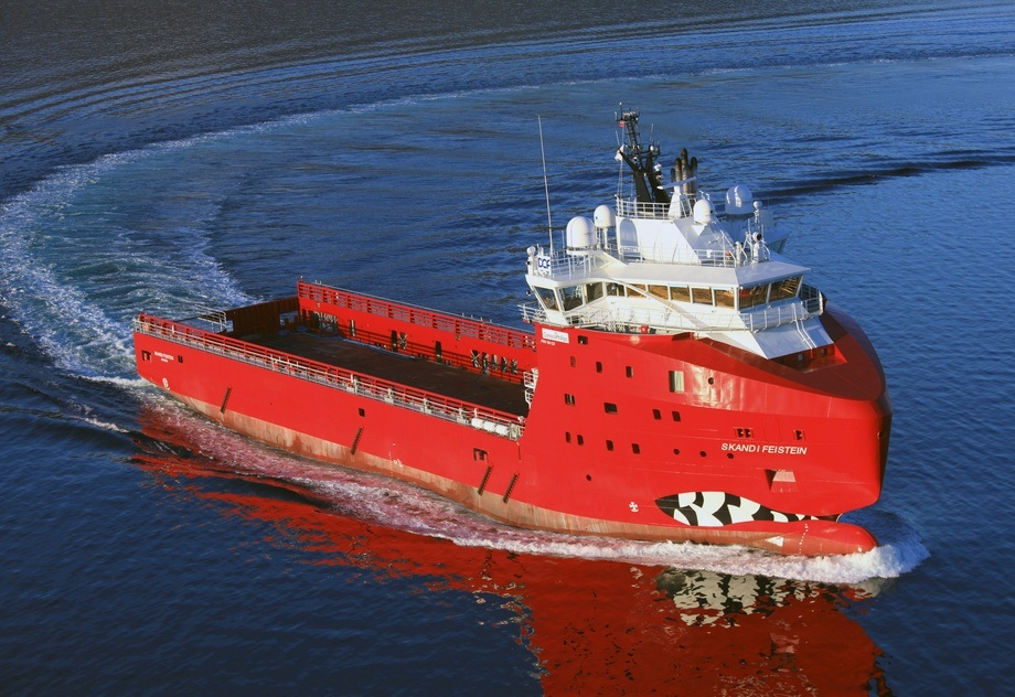 «Skandi Feistein» er et av skipene i flåten til Dof