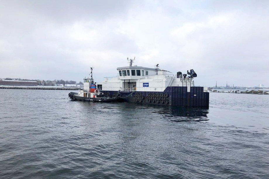 Norges første hybridflåte vil bli driftet av batterier som lades av overskuddsenergien fra generatorene om bord. Foto: AKVA group/Kverneland Energi.