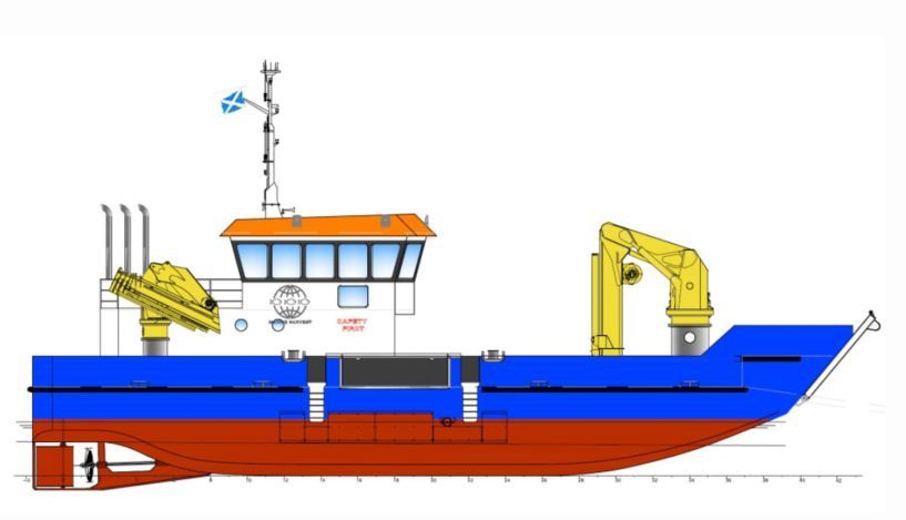 MH Scotland has signed 10-year deals for three landing utility vessels supplied and operated by DESS Aquaculture. Image: DESS