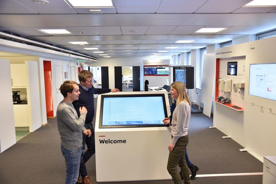 ABB har åpnet et nytt samhandlingssenter for kundene på Billingstad utenfor Oslo. Foto: ABB