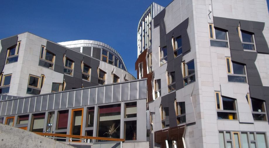 The Scottish Parliament building at Holyrood, Edinburgh. More than half of MSPs say they know a fair amount about fish farming.