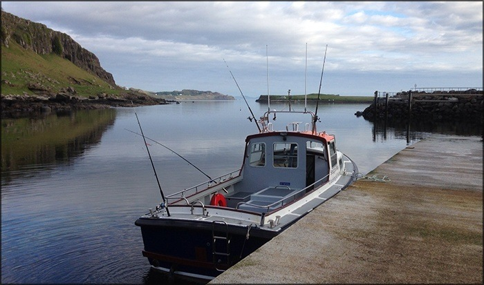 The Staffin Community Trust will now go ahead with plans to develop the Staffin Slipway. Photo: SCT