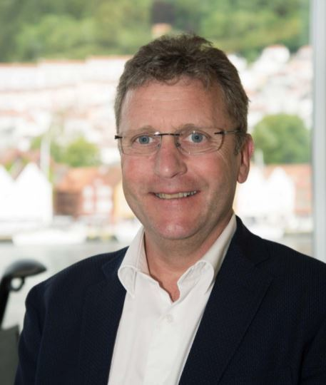 Andreas Kvame, CEO of Grieg Seafood - 'staff in Skye have done a tremendous job'. Photo: FFE