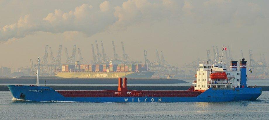 Selskapet eier ved utgangen av året 89 skip som også er det høyeste i selskapets historie. Foto: Wilson
