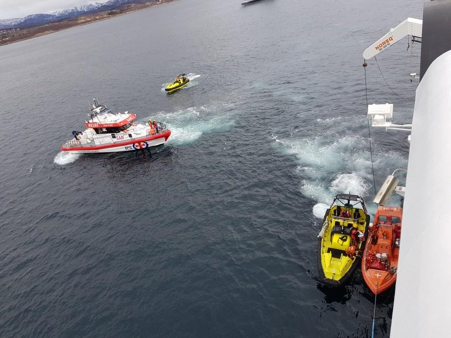 Mer skipstrafikk i nordområdene krever bedre beredskap. Foto: Gustav Erik Blaalid