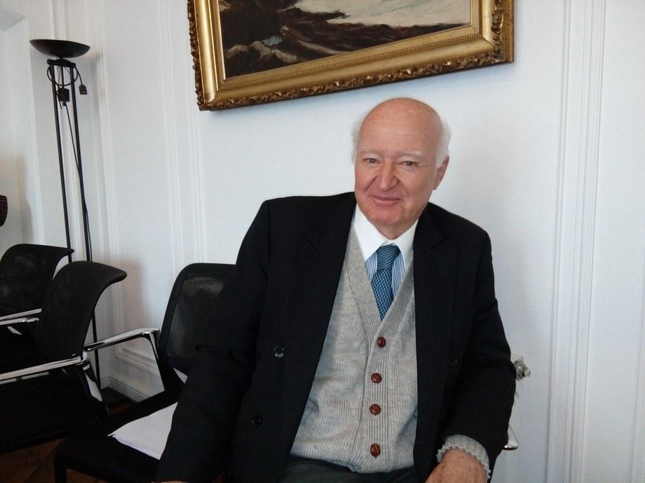Roberto Izquierdo Menéndez, presidente de Invermar. Foto: Archivo Salmonexpert.