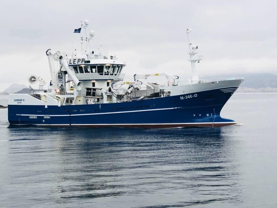 «Gunnar K» er designet og utviklet av Naval Consult AS i Måløy.  Foto: Christen Ræstad