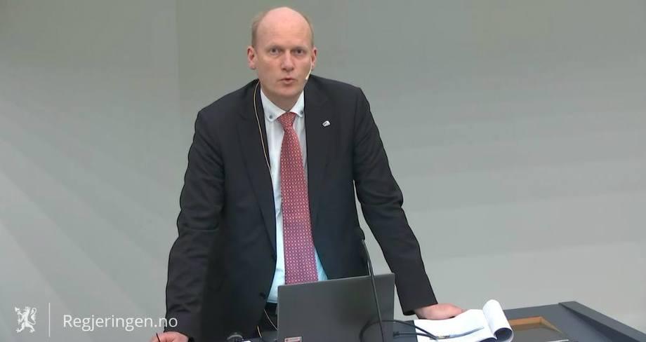 Statsekretær Anders B. Werp