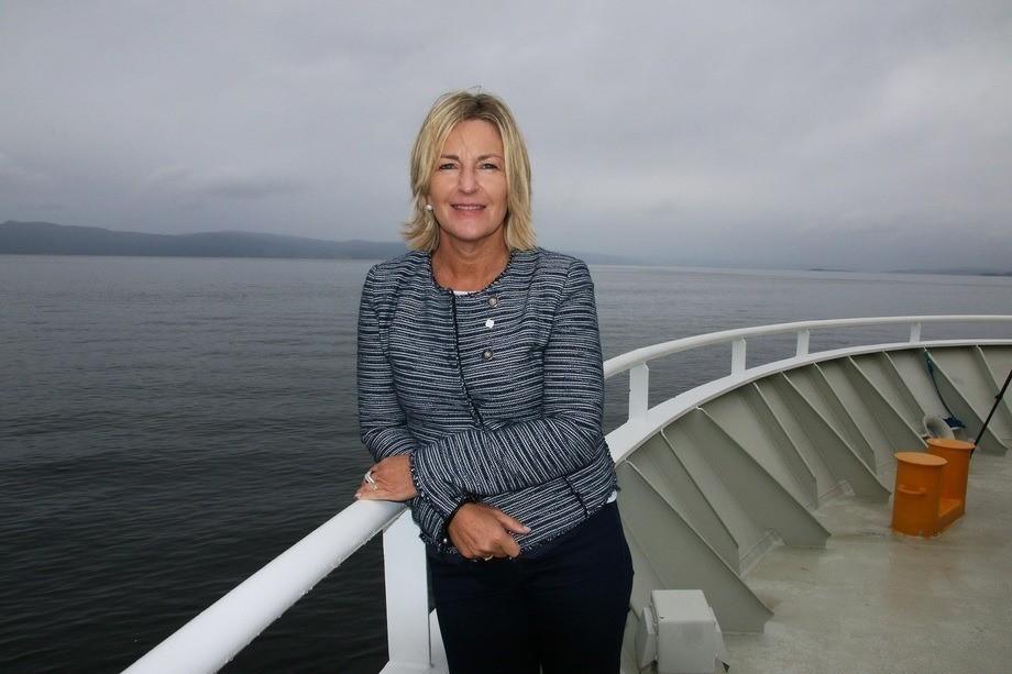 Ingrid Schjøberg, direktøfr for NTNU Havrom. Foto: Idun Haugan/NTNU.