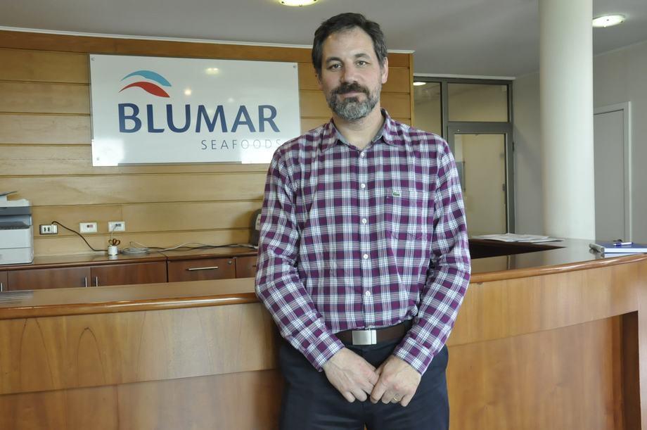 Ignacio Covacevich, gerente de Bluriver. Imagen: Blumar.
