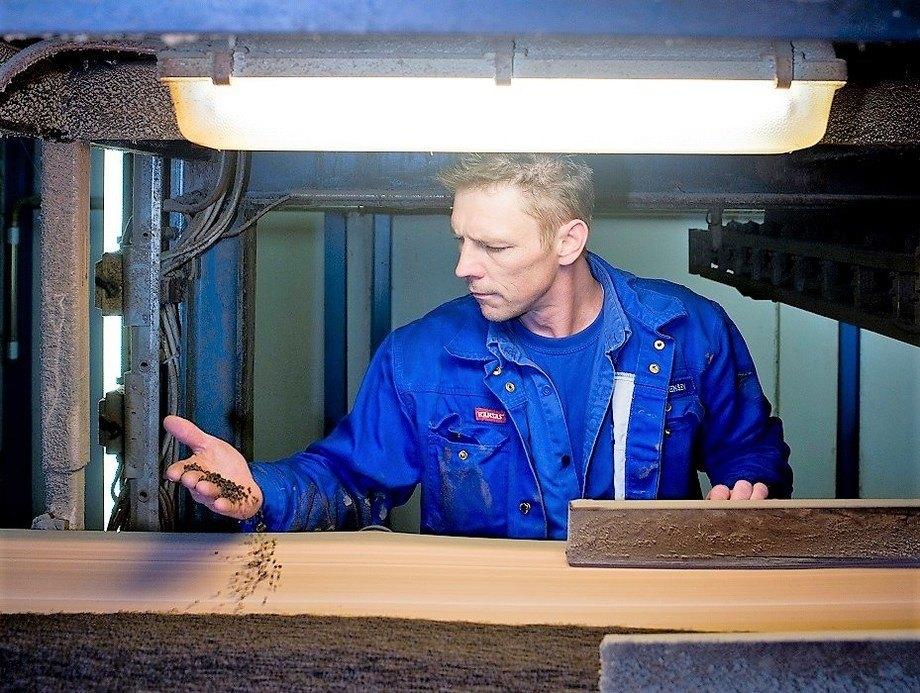 Biomar utvider med ny produksjonslinje ved Brande. Foto: Biomar.