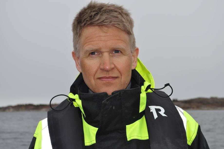 Olav-Andreas Ervik, konsernsjef i Salmar. Foto: Salmar.