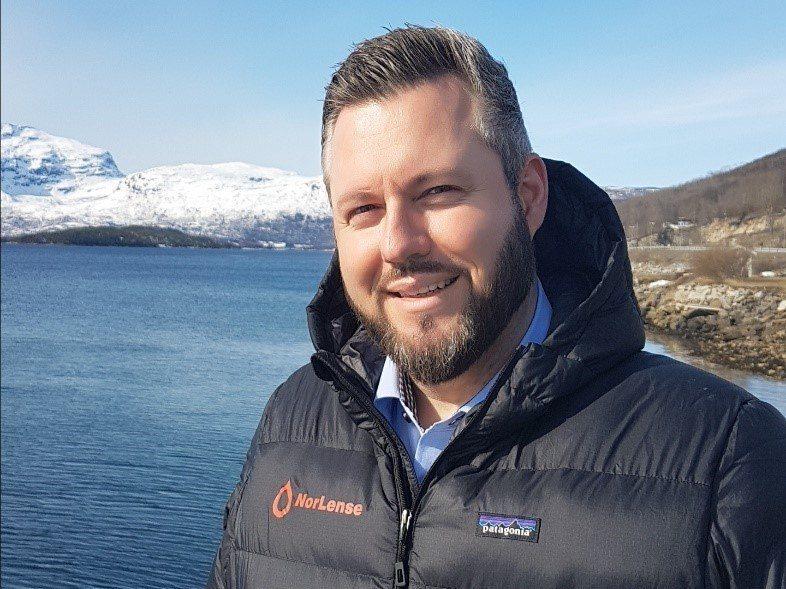 John C Kristiansen er ny salgsansvarlig i Norlense AS i avdelingen