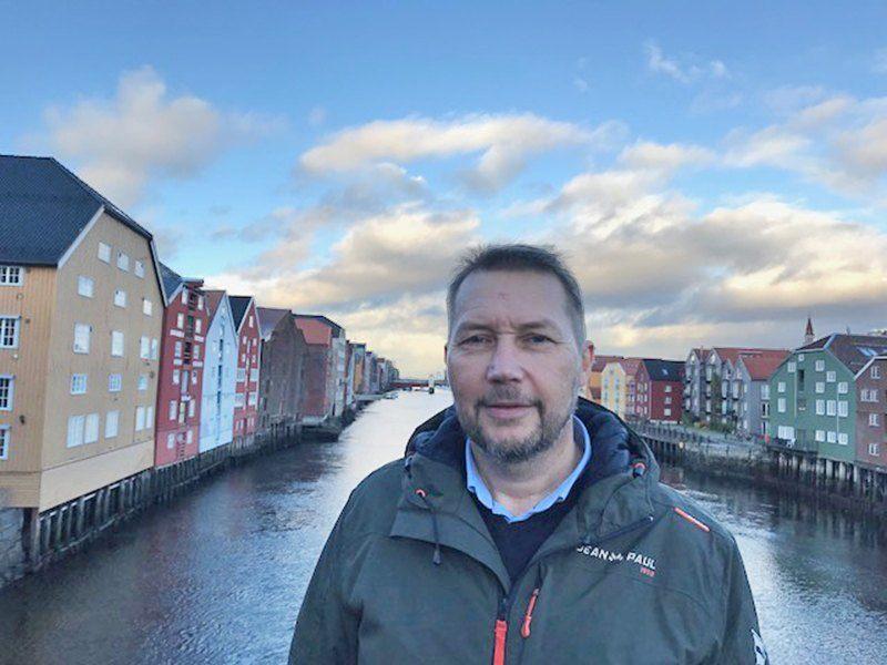 Svein Svengaard, ved Bio Marine Trondheim. Foto: Bio Marine
