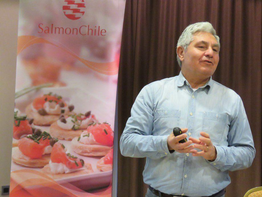 Arturo Clément, presidente de Salmonchile. Imagen: Loreto Appel, Salmonexpert.