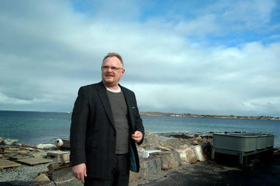 Fiskeriminister Per Sandberg. Foto: NFD.