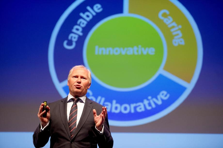 Knut Nesse, CEO de Nutreco. Foto: Skretting.