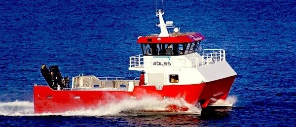 Abyss Aqua, som leverer arbeidsbåt- servicetjenester for havbruksnæringen, har to nye fartøy under bygging. Foto: Abyss Aqua