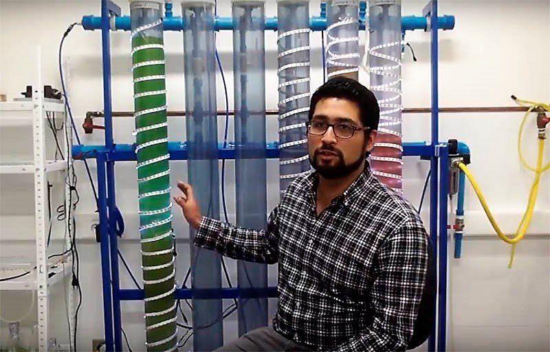 Sergio Rodríguez. Foto: Facultad de Ciencias Naturales y Oceanográficas, UdeC.