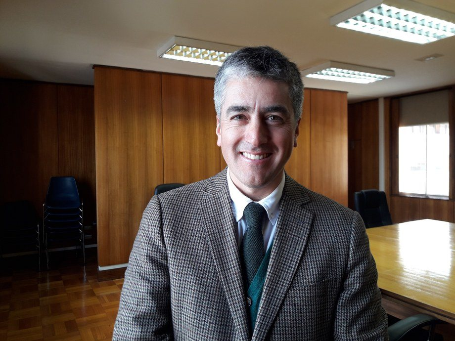 Rodrigo Carrasco, director regional de Corfo. Foto: Loreto Appel, Salmonexpert.