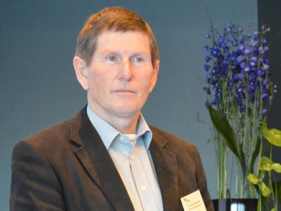 Daglig leder Karl Olaf Jørgensen, Hellesund Fiskeoppdrett. Foto: Arkiv.
