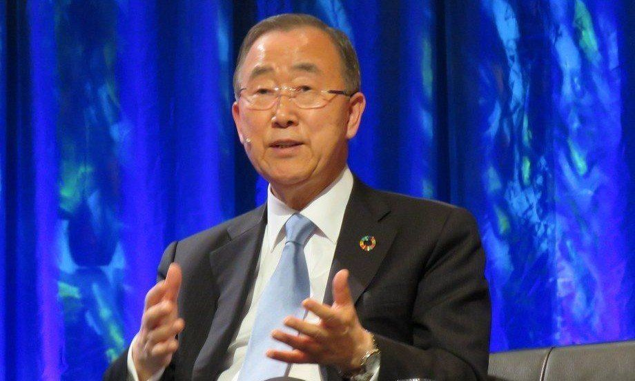 Think beyond yourselves, your companies and your leaders, urged Ban Ki-moon. Photo: Francisco Soto