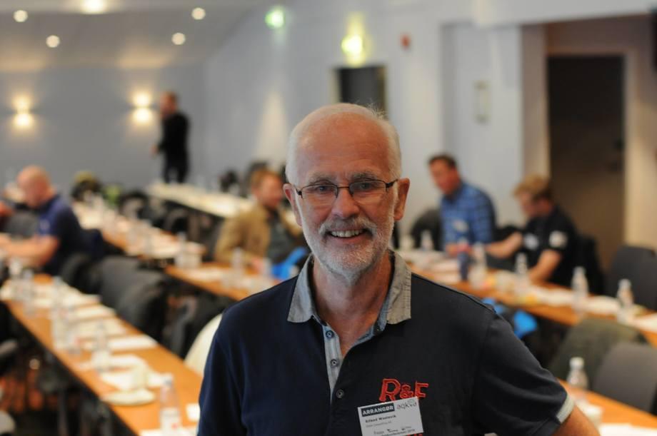 Erlend Waatevik mener bedre kvalitet på rensefisken kan løse underdekningsproblemet. Foto: Pål Mugaas Jensen/Kyst.no.