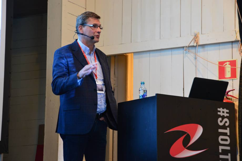 Harald Sveier, teknisk leder i Lerøy Seafood. Foto: Ole Andreas Drønen