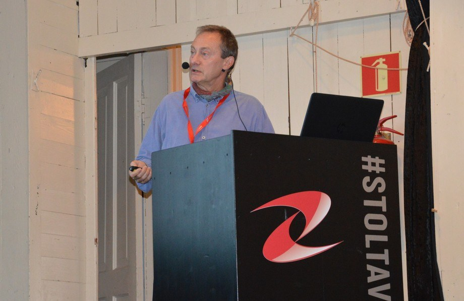 Ole Bendik Dale er forsker ved Veterinærinstituttet og en av landets fremste kapasiteter på fôr og tarmhelse. Foto: Ole Andreas Drønen