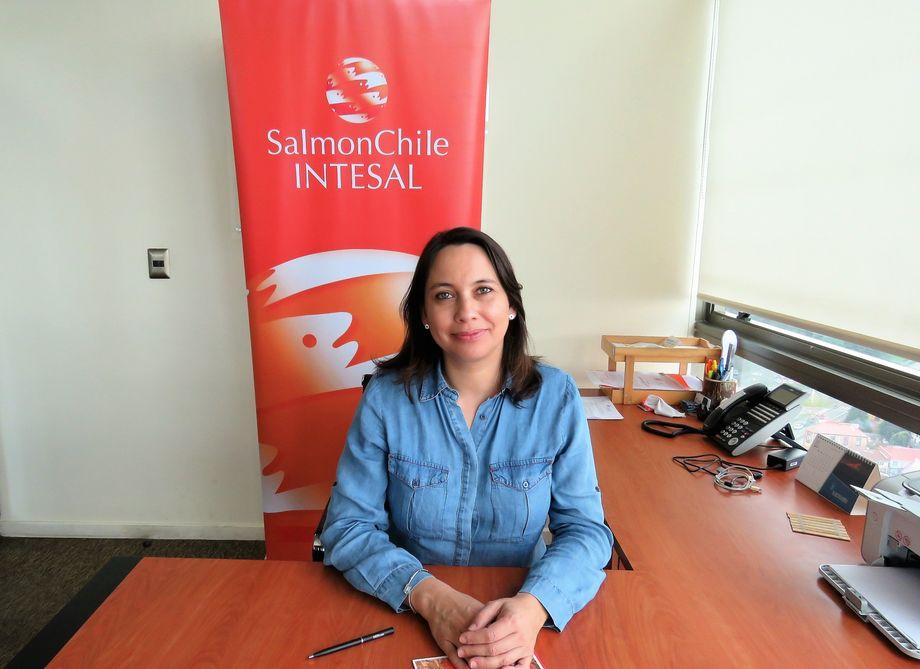 Paulina Artacho, encargada del área de I+D de Intesal. Foto: Archivo Salmonexpert.