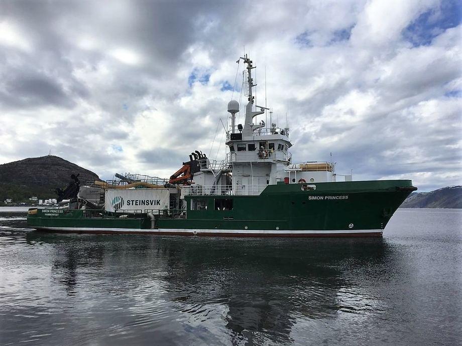 Finnmark Brønnbåtrederi sitt fartøy Simon Princess er vesentlig oppgradert det siste året, for å være best mulig rustet for å håndtere effektiv fjerning av lakselusen. Foto: FBR.