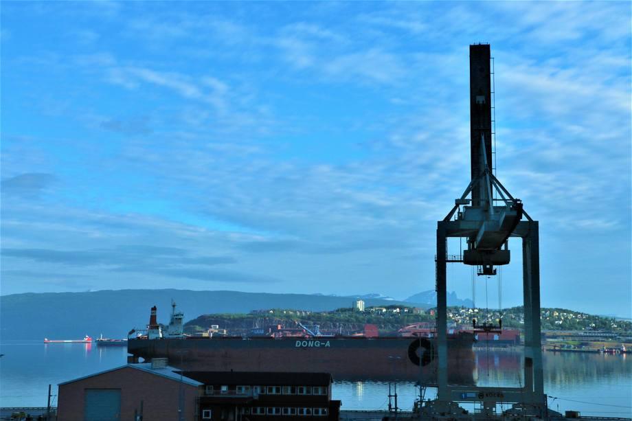 Malmutskipingen fra Narvik er økende. Foto: Sigbjørn Larsen.