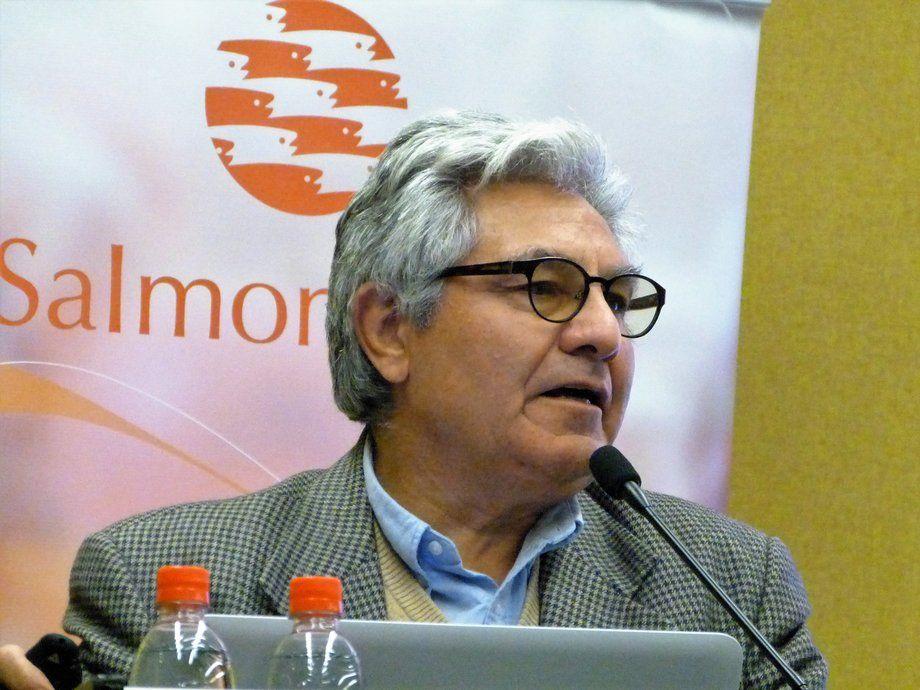 Arturo Clément, presidente de Salmonchile. Foto: Loreto Appel, Salmonexpert.