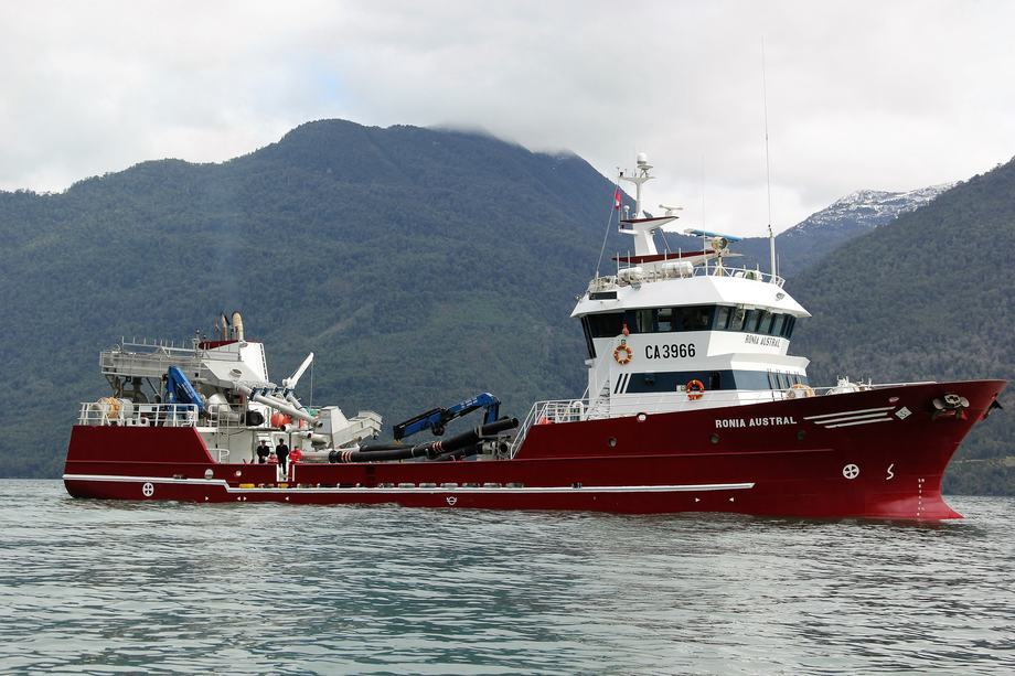 Wellboat Ronia Austral. Foto: Solvtrans Chile.