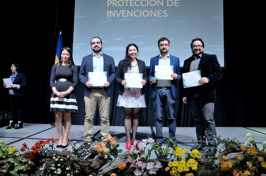 Diego Valenzuela, Valentina Valenzuela, Gustavo Núñez y Cristián Gallardo. Foto: Incar.