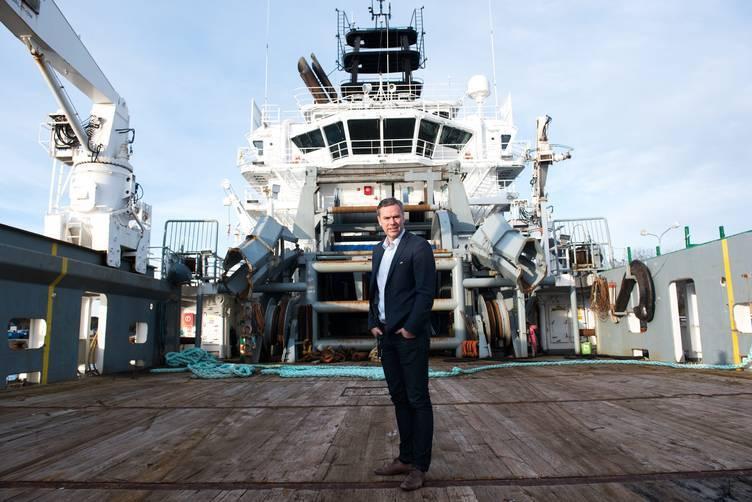 Njål Sævik i Havila Shipping har kvittet seg med fartøy Foto: Havila