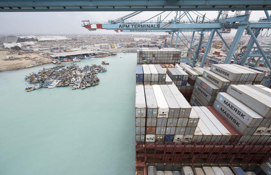 Maersk opera en 130 países y emplea aproximadamente a 76.000 personas. Imagen: Maersk.